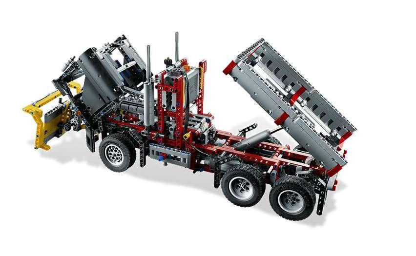 9397 Logging Truck B Model Instructions Lego Technic And Model